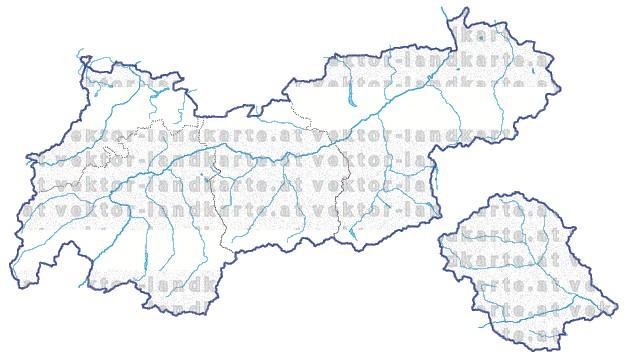 Steiermark Karte Flüsse.Tirol Landkarte Regionen Gewaesser
